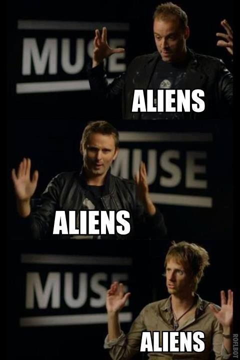 Muse, Most likely describing their new album.