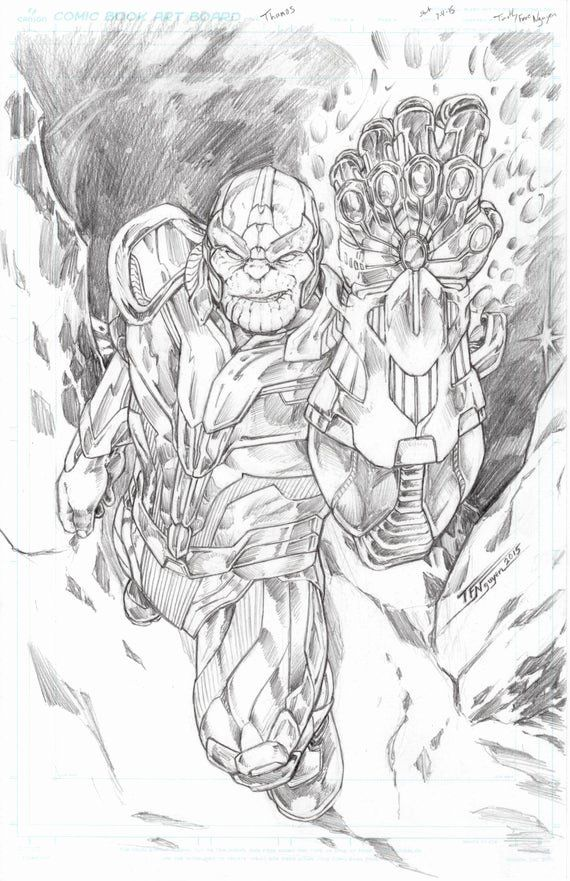 28 Infinity Gauntlet Coloring Page in 2020 | Coloring ...