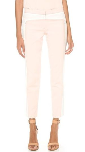 Tibi Color Block Pants