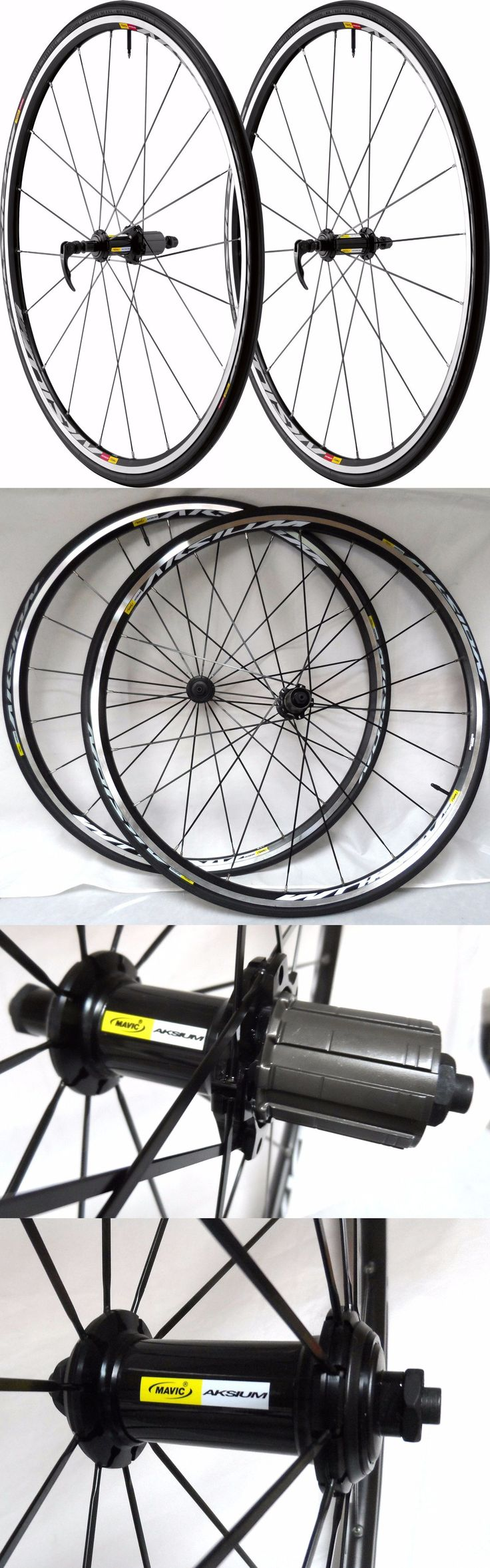 Wheels and Wheelsets 177830: Mavic Aksium 700C Road Bicycle Wheels, W 700X25 Aksion Tires, 11 Speed, New! -> BUY IT NOW ONLY: $169.99 on eBay!