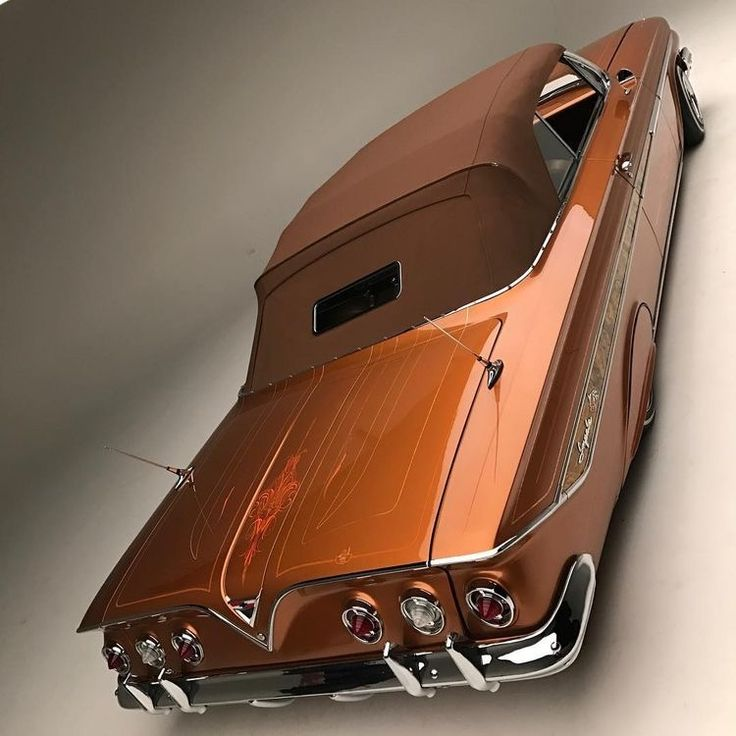 1960 (I think) Chevrolet Impala Convertible custom