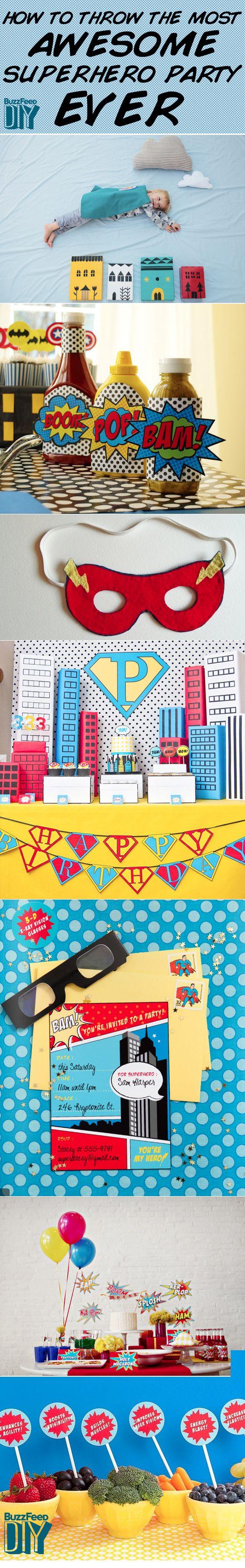 Top 25+ best Adult superhero party ideas on Pinterest | Superhero ...