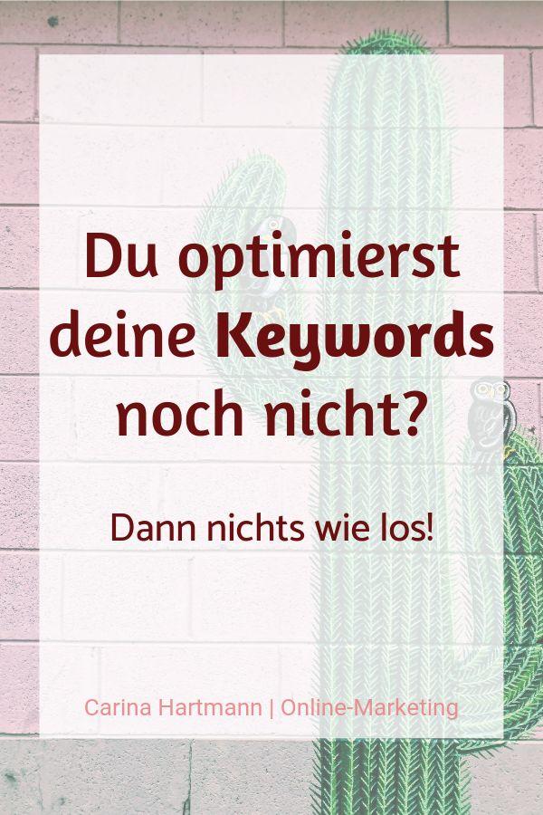 Keywords – Warum Sie damit umgehen müssen