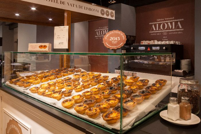 Must try pastries in Paris: Pasteis de Nata from Pastelaria Aloma