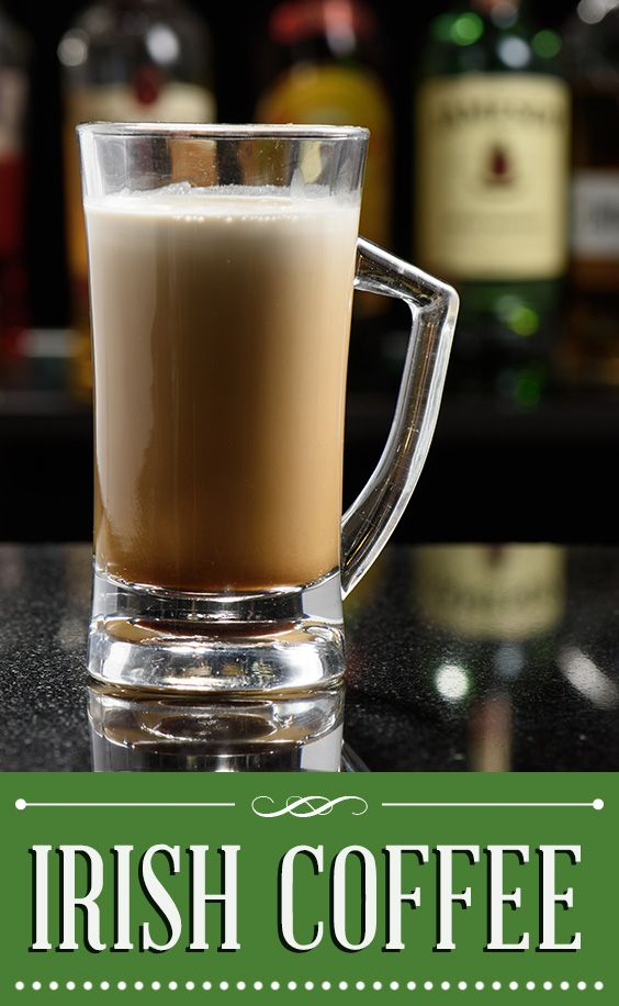 Irish coffee is often served topped with whipped cream, but this recipe uses a float of heavy cream—truer to the original recipe.