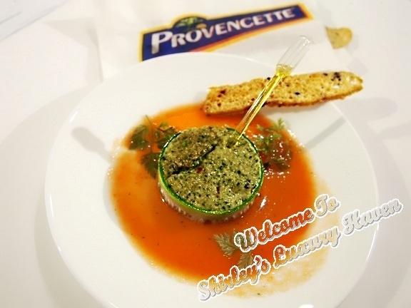 Le saint julien french summer terrine recipe a for Tomato terrine