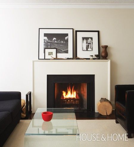 mantle decor house and home