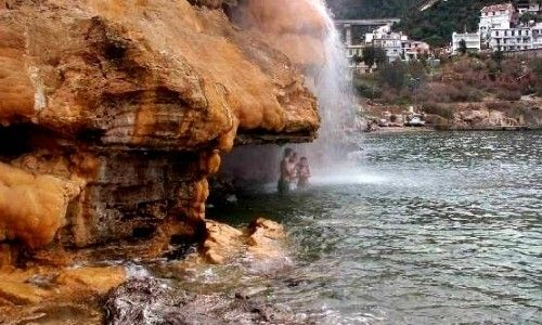 Natural Thermal spa-Aidipsos-Evia
