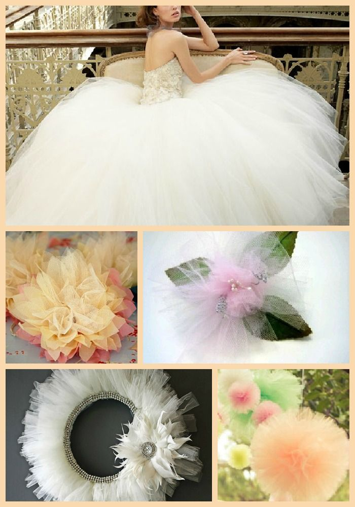 The Art of the Tulle - Tulle Crafts