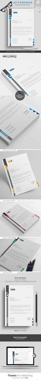 #Letterhead - Stationery Print Templates.Download here: https://graphicriver.net/item/letterhead/17387421?ref=arroganttype