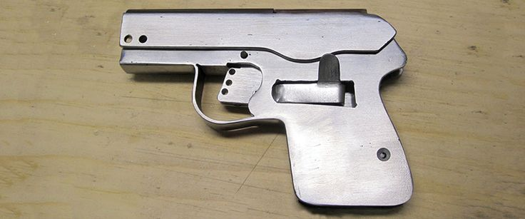 Floating around the Internet are plans for a semi-automatic pistol constructed out of sheet metal. Like so many plans for 3D printed guns, it appears no one has actually built one of these pistols. It...