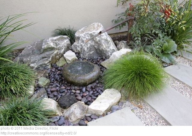 the first step to adding a japanese garden landscape feel to your yard is to decide