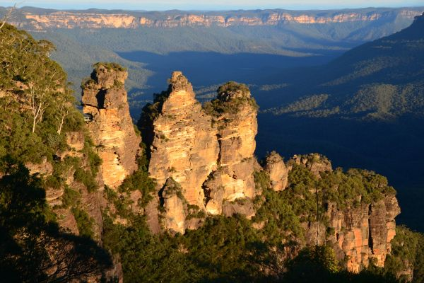 The Three Sisters from Echo Point, Katoomba