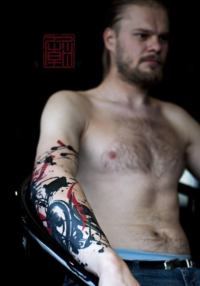 Фото и эскизы тату на предплечье: мужские и для девушек