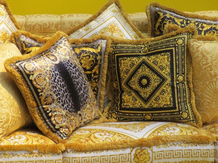 milan furniture fair: versace home collection | versace, Attraktive mobel
