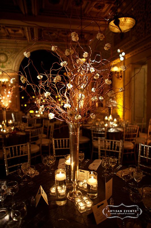 Breathtaking centerpiece #weddings #centerpieces #blisschicago
