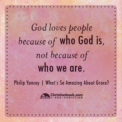 Philip Yancey, What's So Amazing About #Grace