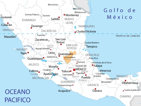 Best 25 Mapa de mexico ideas on Pinterest  Mapa de mxico