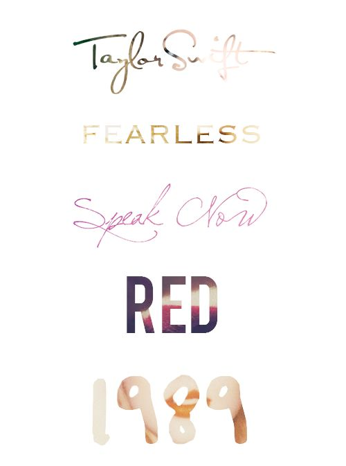 Taylor Swift,Fearless,Speak Now,Red,1989 Please visit our website @ http://22taylorswift.com
