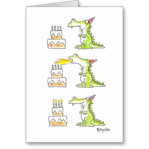 Birthday Dragon By Boynton Card Dragon Pinterest Cumpleaos