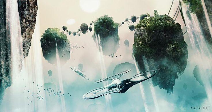 "45 mentions J'aime, 2 commentaires - Sci Fi Generation (@scifigeneration) sur Instagram: ""via Martin Pique Yakoubsohn #art #scifiart #fantasyart #futuristic #flyingrocks #alienworlds…"""