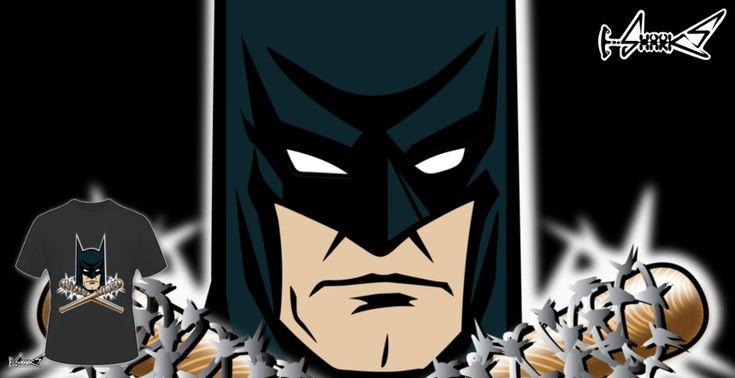 Magliette+THE+REAL+BAT-MAN+-+Disegnato+da+:+KARMADESIGNER