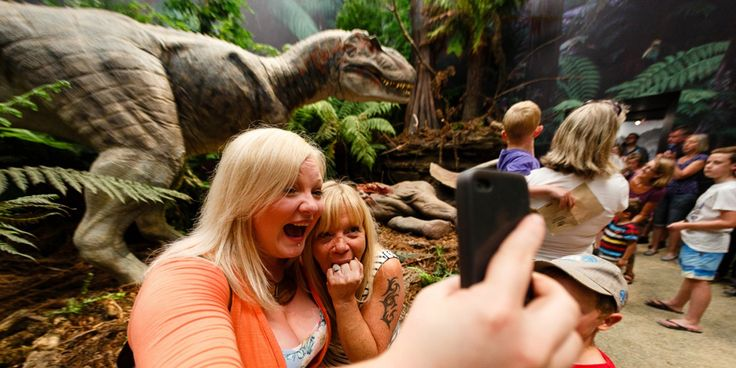 Dinosaurs Unleashed: summer holidays 2015 - Eden Project, Cornwall