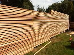 Image result for modern privacy fence