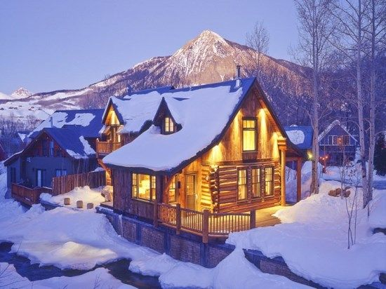22 best vacation homes of crested butte images on for Crested butte cabins