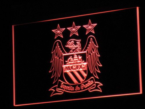 Manchester City Football Club LED Neon Sign - Legacy Edition