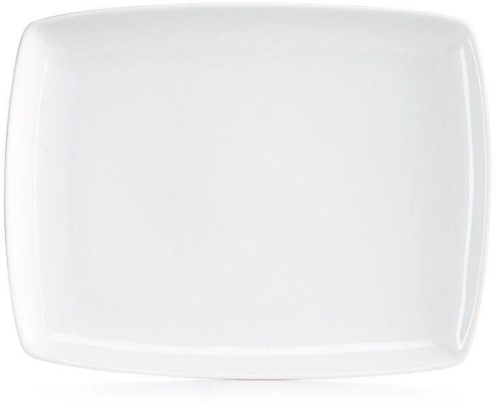 """The Cellar Whiteware 10"""" Soft Rectangular Platter, Created for Macy's"""