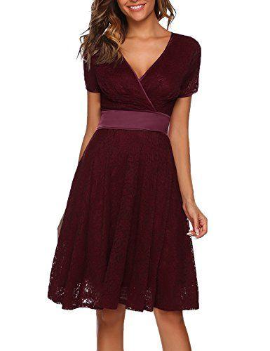 Kleid festlich v ausschnitt
