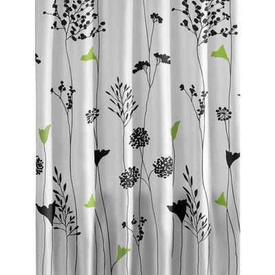 City Scene Asian Lily Cotton Shower Curtain & Reviews | Wayfair