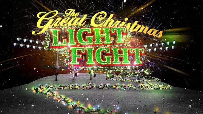 Watch The Great Christmas Light Fight TV Show - ABC.com This is so... I can't even find a word! Kitsch? Decadent? Anyway, our kids love it! Watching it might be a nice advent activity
