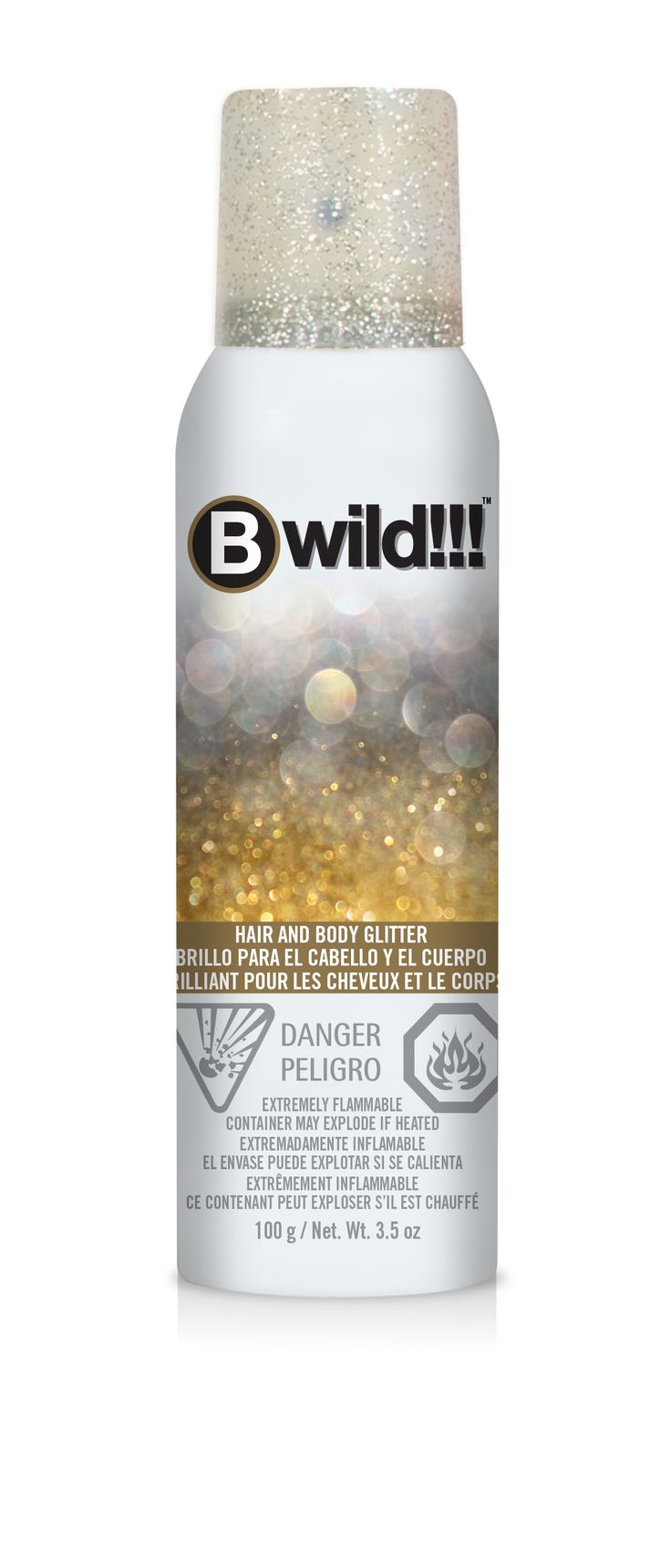 17 Best Images About BWild Temporary Hair Color Spray Glitter Silver Amp G