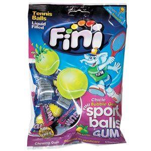 Tennis Ball Fini 80g Chicle