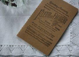 Notebook Fleur de Froment | Vintage Stationary | MaisonFrench.nl