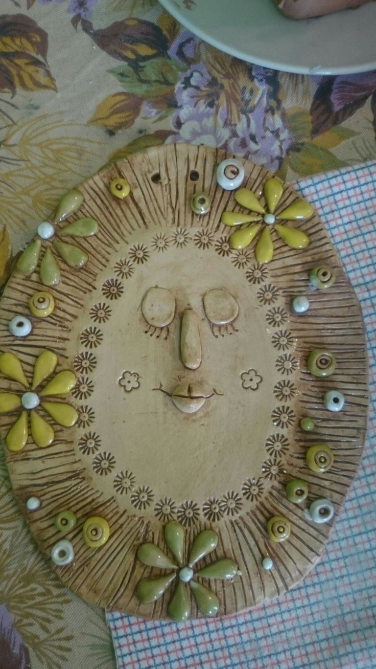 Sluníčko z keramiky :-)