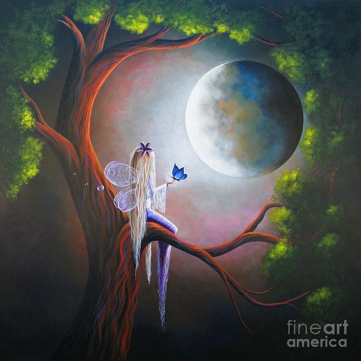 Enchanted Beginnings By Shawna Erback Painting