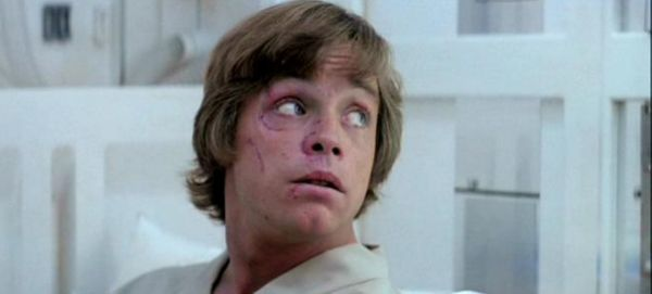 On January 11, 1977 Mark Hamill got into a car accident that fractured his nose and left...