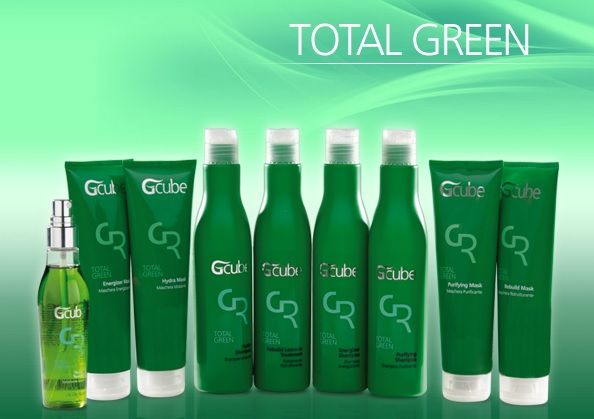 Total Green Products for Oily Hair, for deep-hydration-needed hair, for weak hair!!!