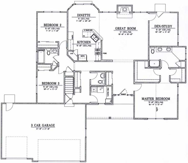 591 best House plans images on Pinterest | House floor plans ...