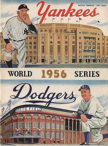 1956 World Series- Brooklyn Dodgers vs. New York Yankees, Game 5
