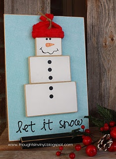 super cute and inexpesive craft kits from www.thoughtsinvinyl.blogspot.com