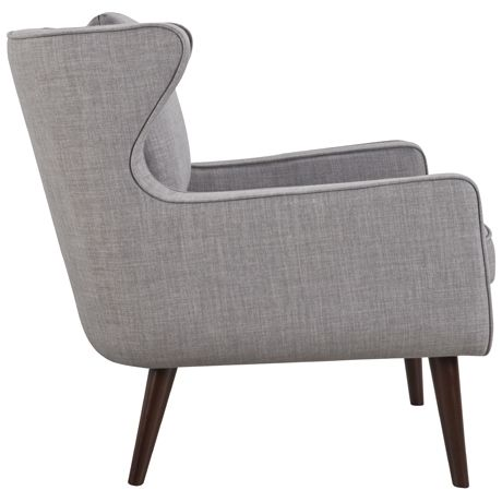 Danish Wing Chair Arena Cement