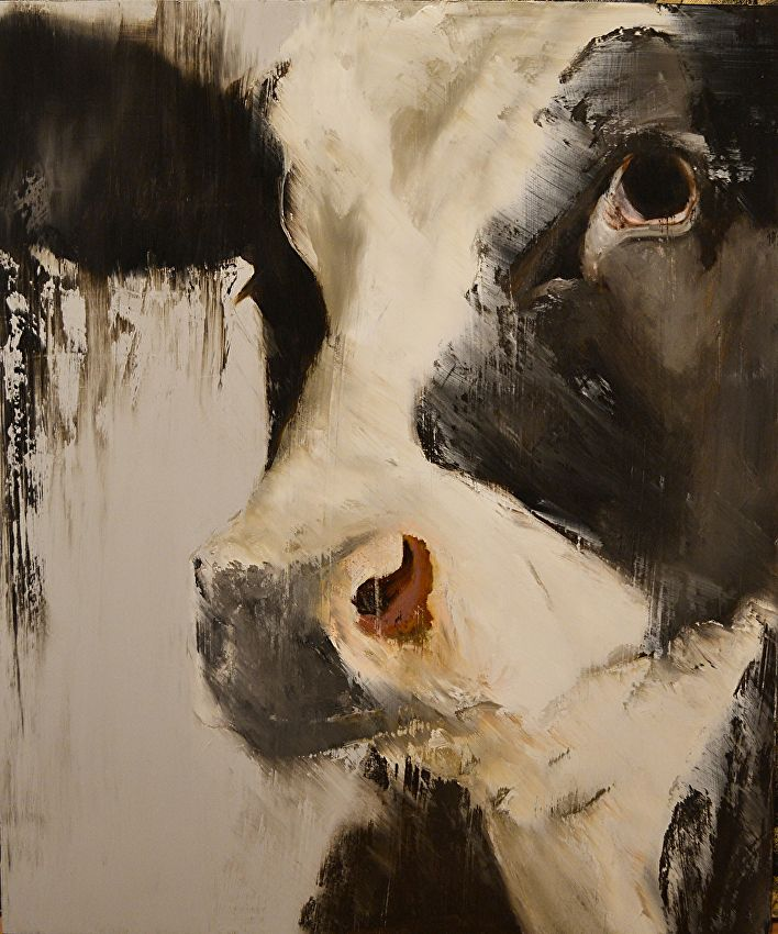 "Ferdinand by Elsa Sroka Oil ~ 24"" x 20"""
