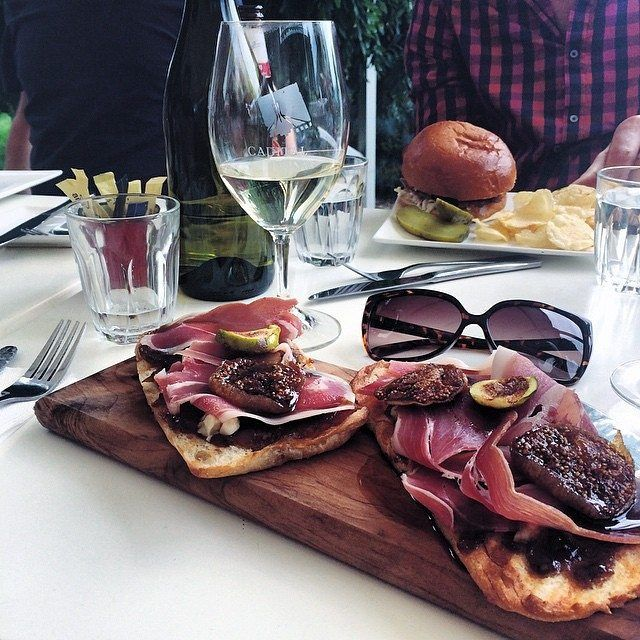 """Guest Instagrammer @megan_sparke: """"We are so lucky to be on the doorstep of so many great wineries. I like to take full advantage of it!  One of my favourite cellar doors is @capitalwines at Gundaroo, especially when paired with their epicurean tasting."""" #visitcanberra #localscan"""