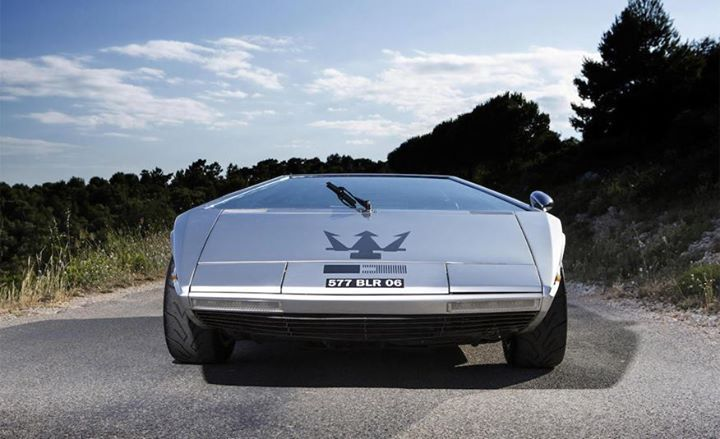 1972 Maserati Boomerang concept www.carligious.com