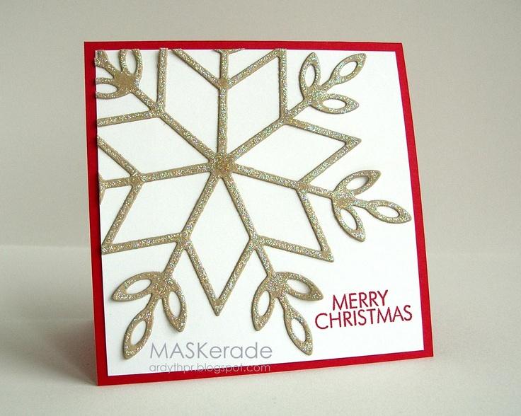 MASKerade: CFC76 - Snowflake Merry Christmas: