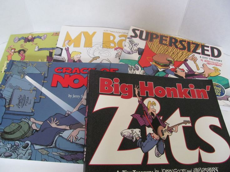 ZITS comic Books by Scott and Borgman by CellarDeals on Etsy